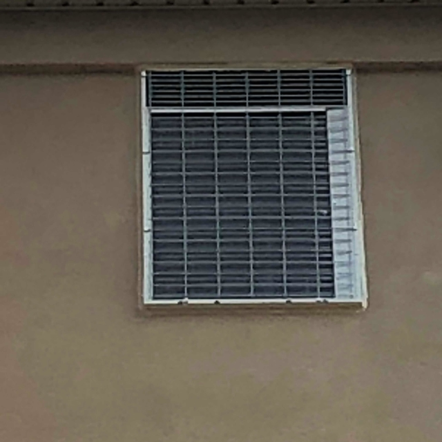 Ac unit in wall