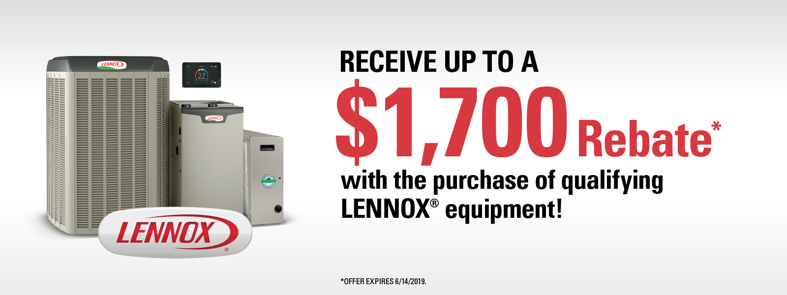 Receive Up To A $1,700 Rebate*